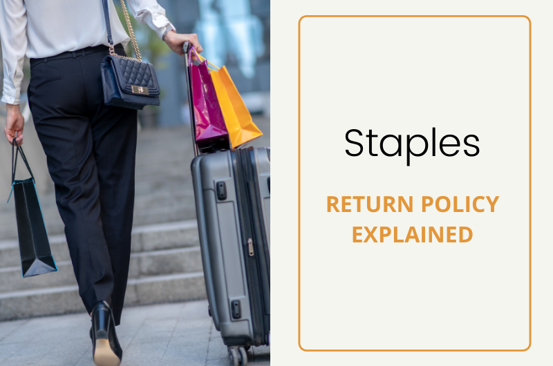staples return policy