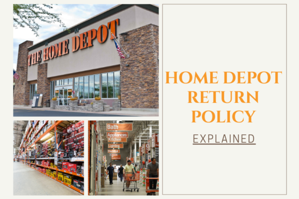 Home depot's return policy