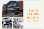 Lowe's return policy