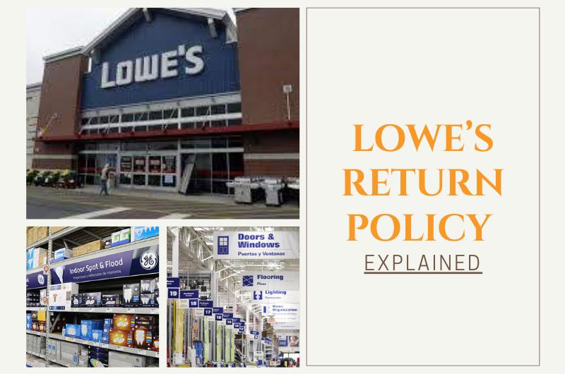 Lowe's return policy