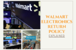 Walmart electronics return policy