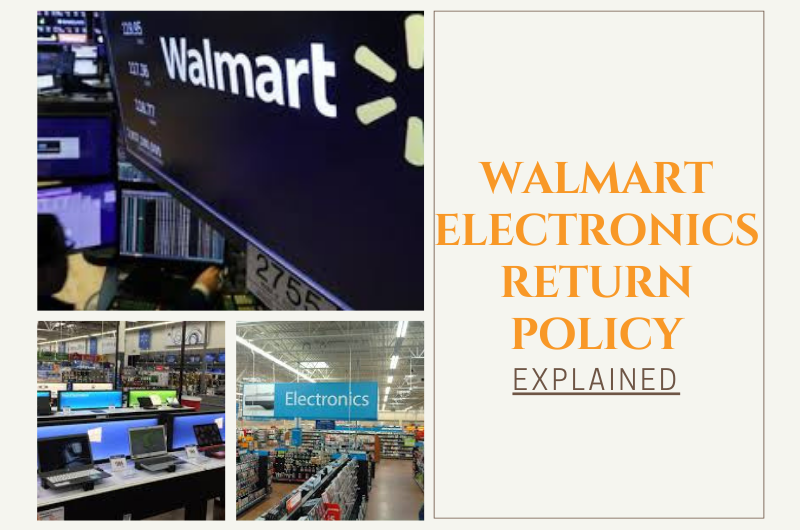 Walmart electronics return policy