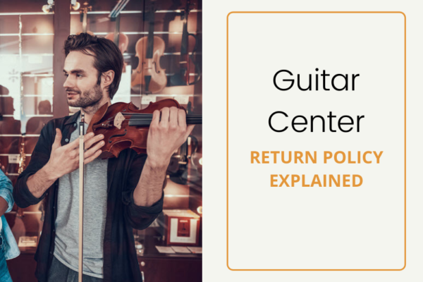 guitar center return policy