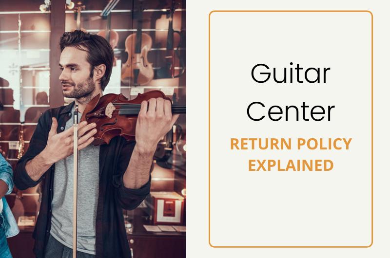 guitar center return policy