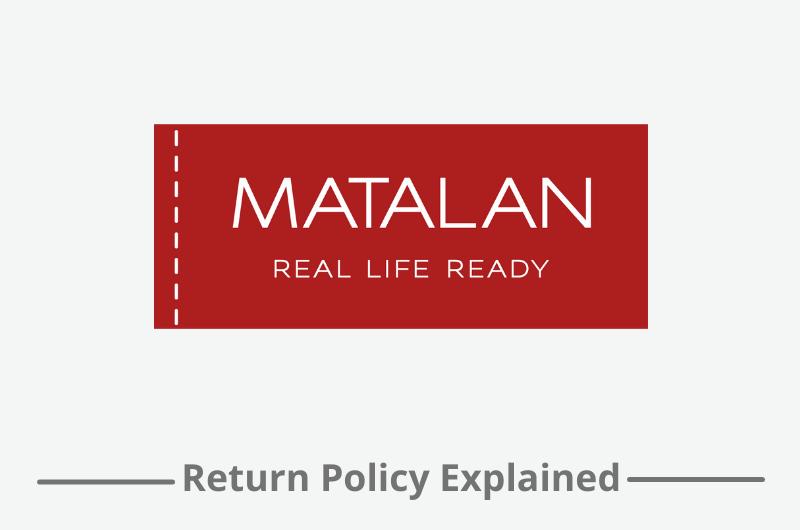 matalan return policy
