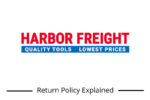 harbor freight return policy